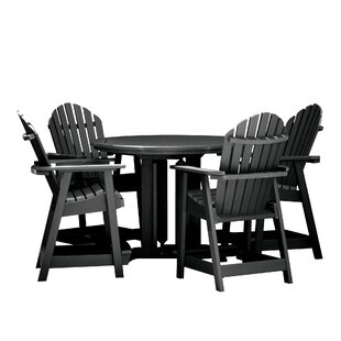 Deerpark 5 Piece Bar Height Dining Set