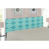 Abstract Geometric Upholstered Panel Headboard by East Urban Home