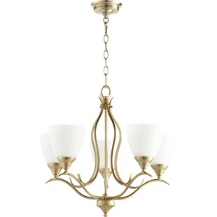Buying Harnois 5-Light Shaded Chandelier By Lark Manor