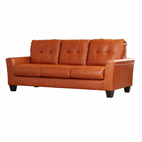 Brown Leather Sofas Youu0027ll Love | Wayfair