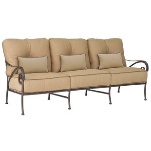 Lucerne Patio Sofa with Cushions