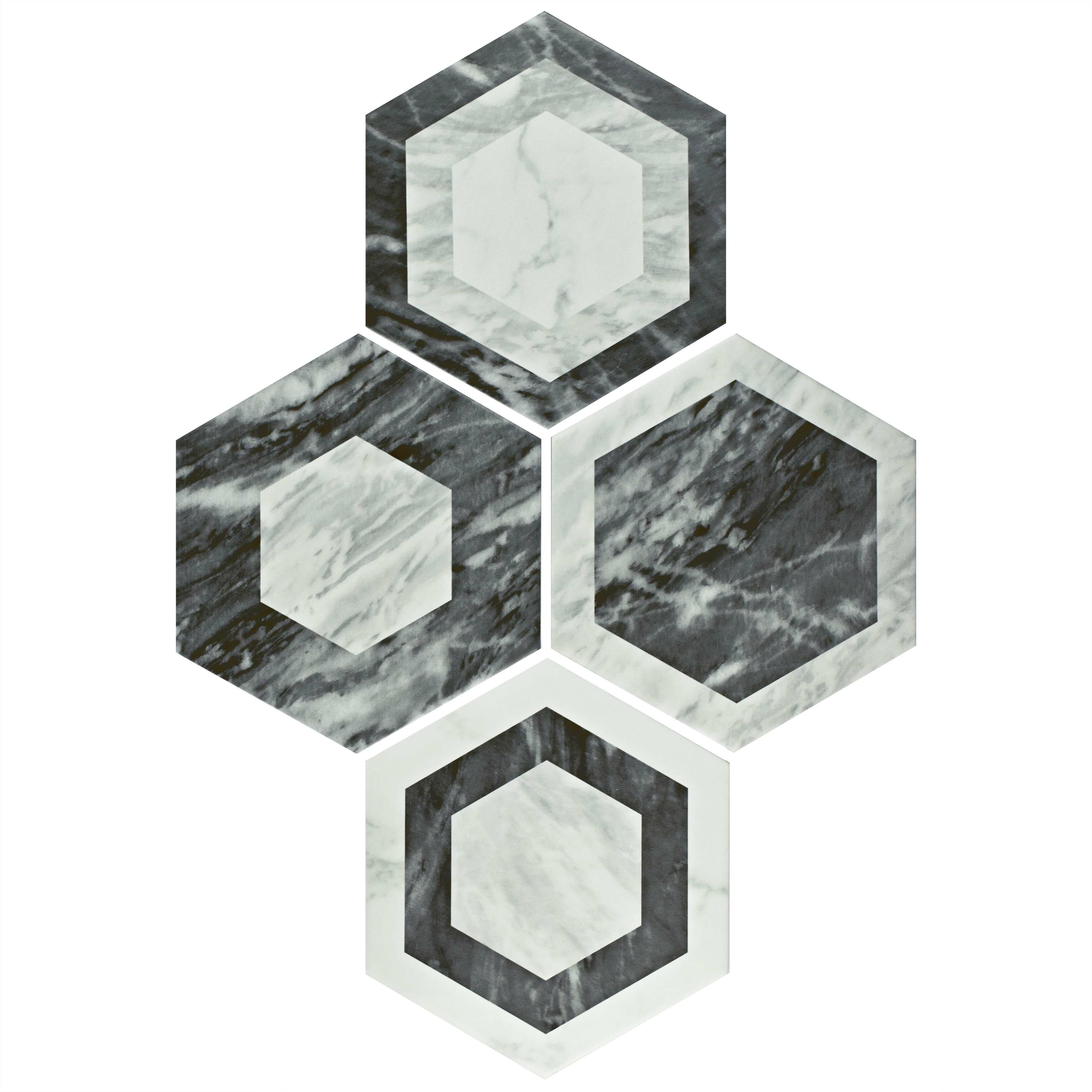 Elitetile Karra 7 X 8 Porcelain Patterned Wall Floor Tile Wayfair
