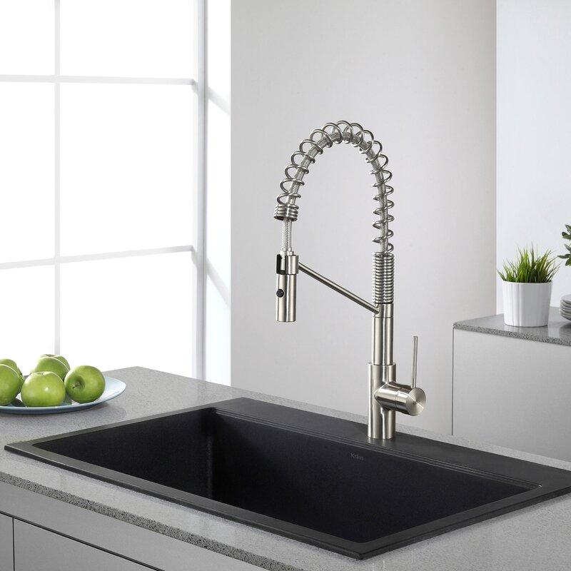 Kraus 31 x 2008 undermounttopmount kitchen sink reviews wayfair 31 x 2008 undermounttopmount kitchen sink workwithnaturefo