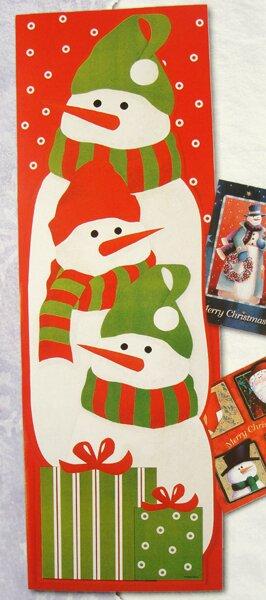 Northlight Snowman Christmas Card Wall Holder Wayfair