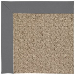 Lisle Machine Tufted Ash Indoor/Outdoor Area Rug