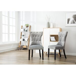 Ottley Tufted Upholstered Dining Chair (Set of 2) by One Allium Way