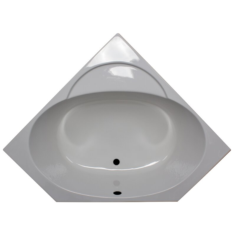 Product Image of the American Acrylic Soaker Bathtub