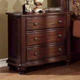 Bentlee 3 Drawer Nightstand by Astoria Grand