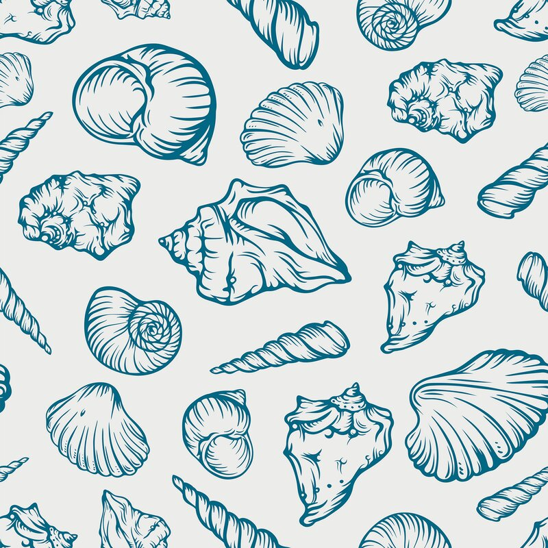 Benno+Illustration+Nautical+Removable+Peel+and+Stick+Wallpaper+Panel