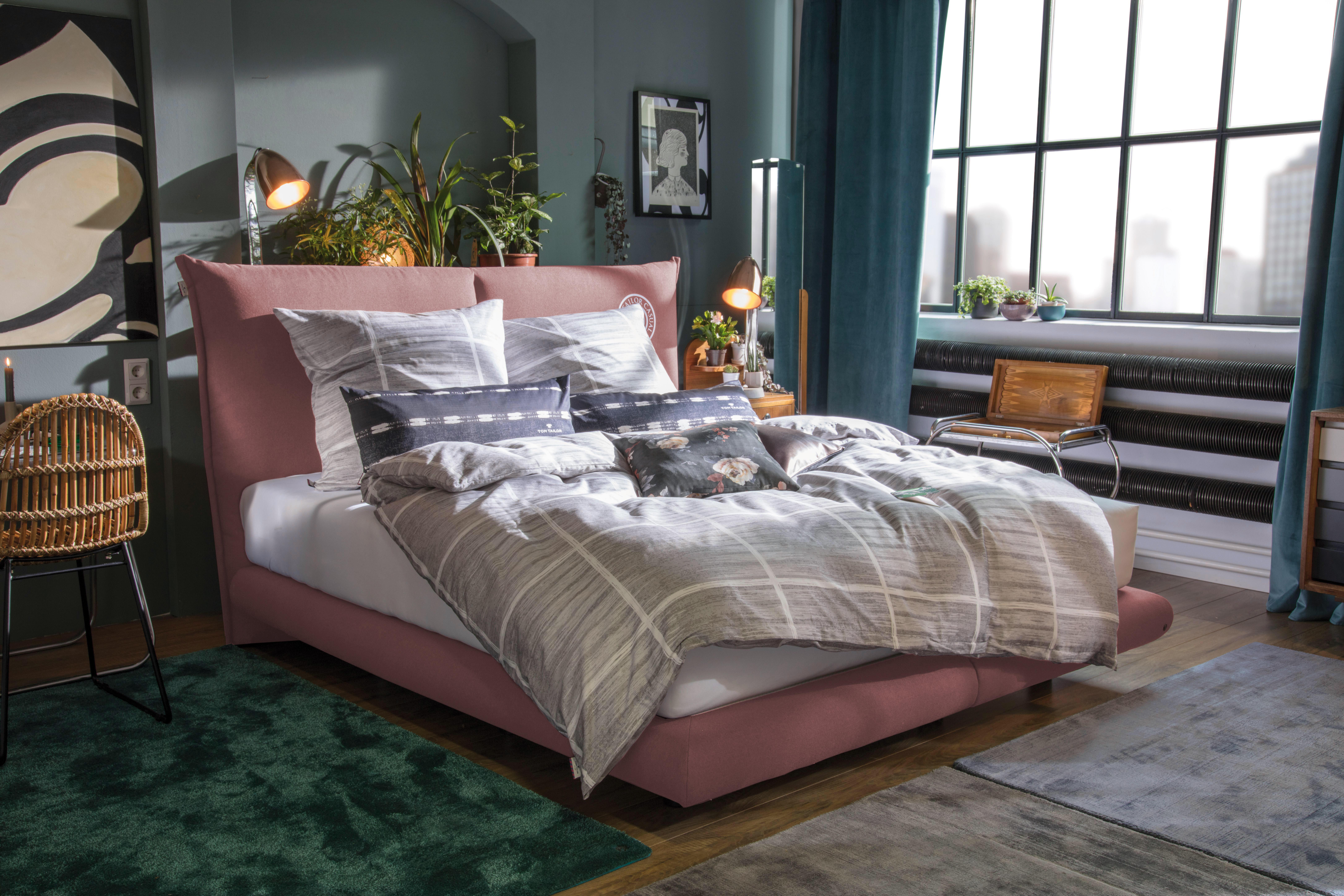 Tom tailor boxspringbett soho pillow mit print wayfair.de