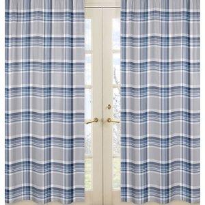 Plaid Curtain Panels (Set of 2)
