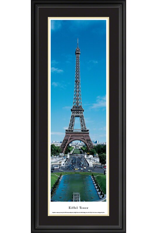 Vault W Artwork Icon Eiffel Tower Day Framed Photographic Print Wayfair
