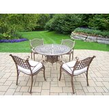 Thelma 5 Piece Dining Set with Cushions
