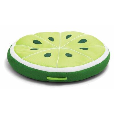 Big Joe Fruit Slice Pool Lounger Big Joe Color: Lime