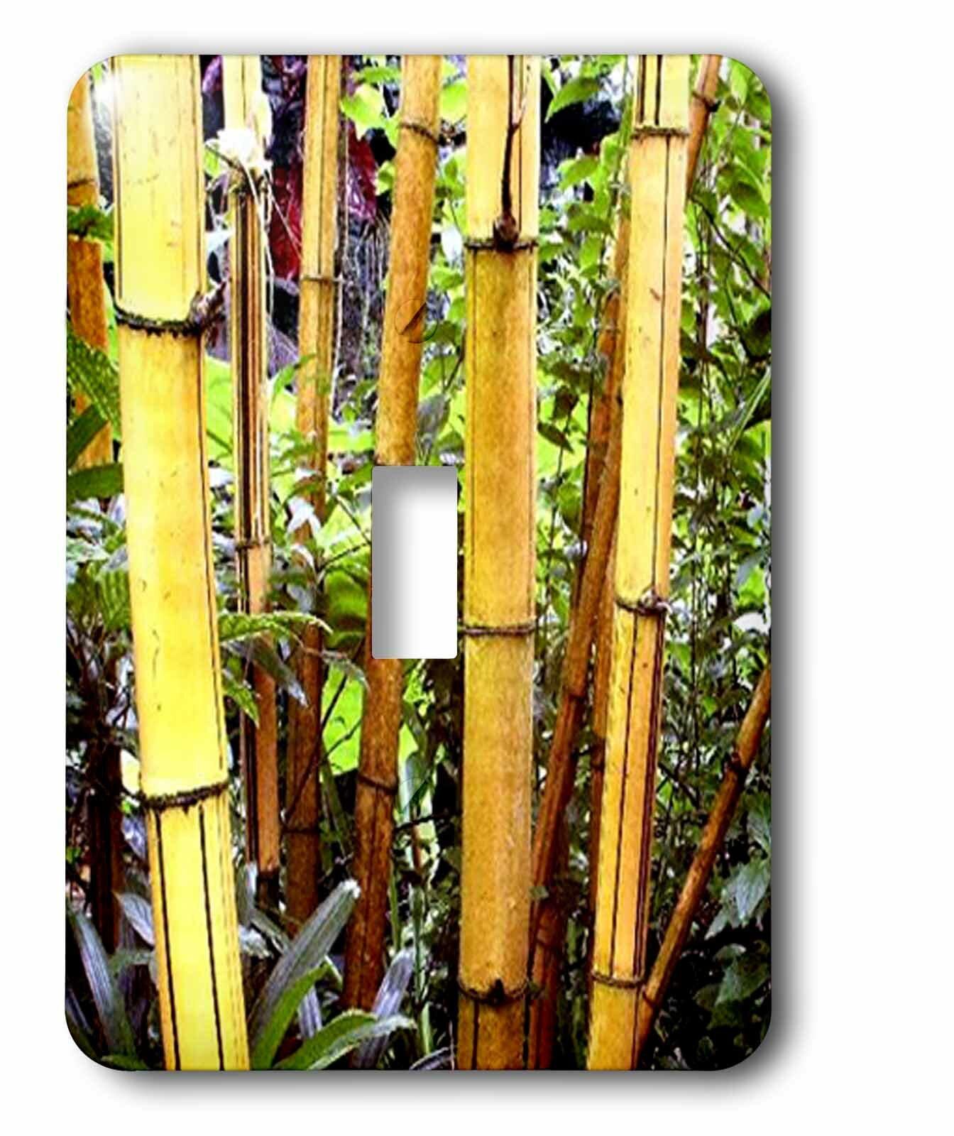 3drose Bamboo 1 Gang Toggle Light Switch Wall Plate Wayfair
