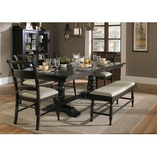 Lloyd 6 Piece Solid Wood Dining Set DarHome Co