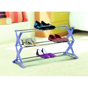 Affordable Stylo 10 Pair Stackable Shoe Rack By Bonita