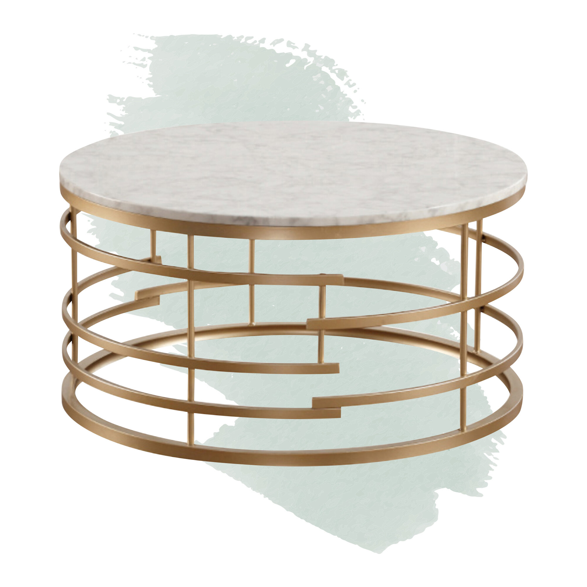 Foundstone Minerva 2 Piece Coffee Table Set Reviews Wayfair