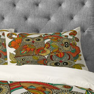 Valentina Ramos 4 Owls Pillowcase