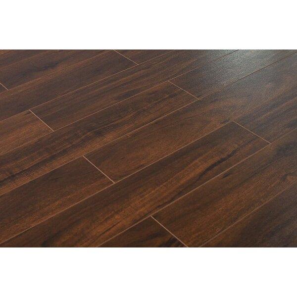 Montserrat Lampton 5 X 48 X 12mm Walnut Laminate Flooring Wayfair