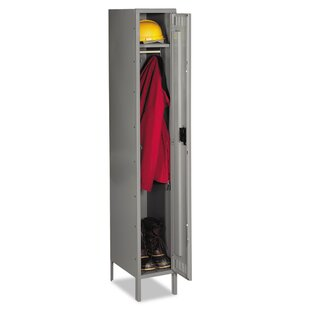 Single Tier Locker Storage Cabinet by Tennsco Corp.