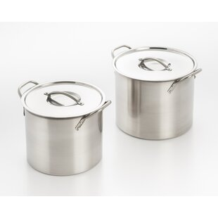 5.7 qt. 2 Piece Pot Set
