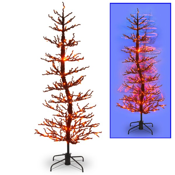 Halloween Wobble Tree with LED Lights