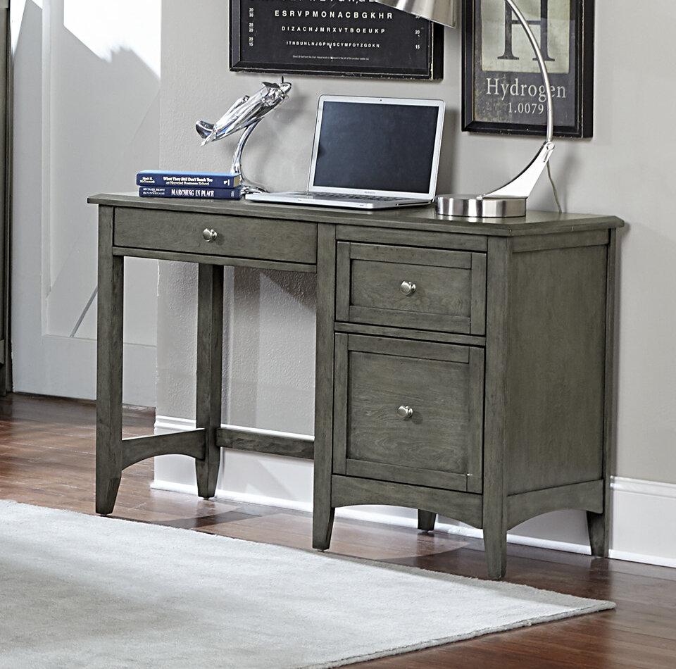 Charlton Home Socorro Writing Desk Reviews Wayfair