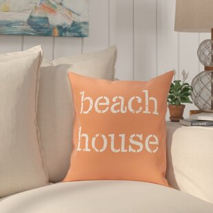 Cedarville Beach House Throw Pillow