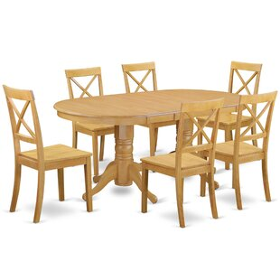 Rockdale 7 Piece Solid Wood Dining Set