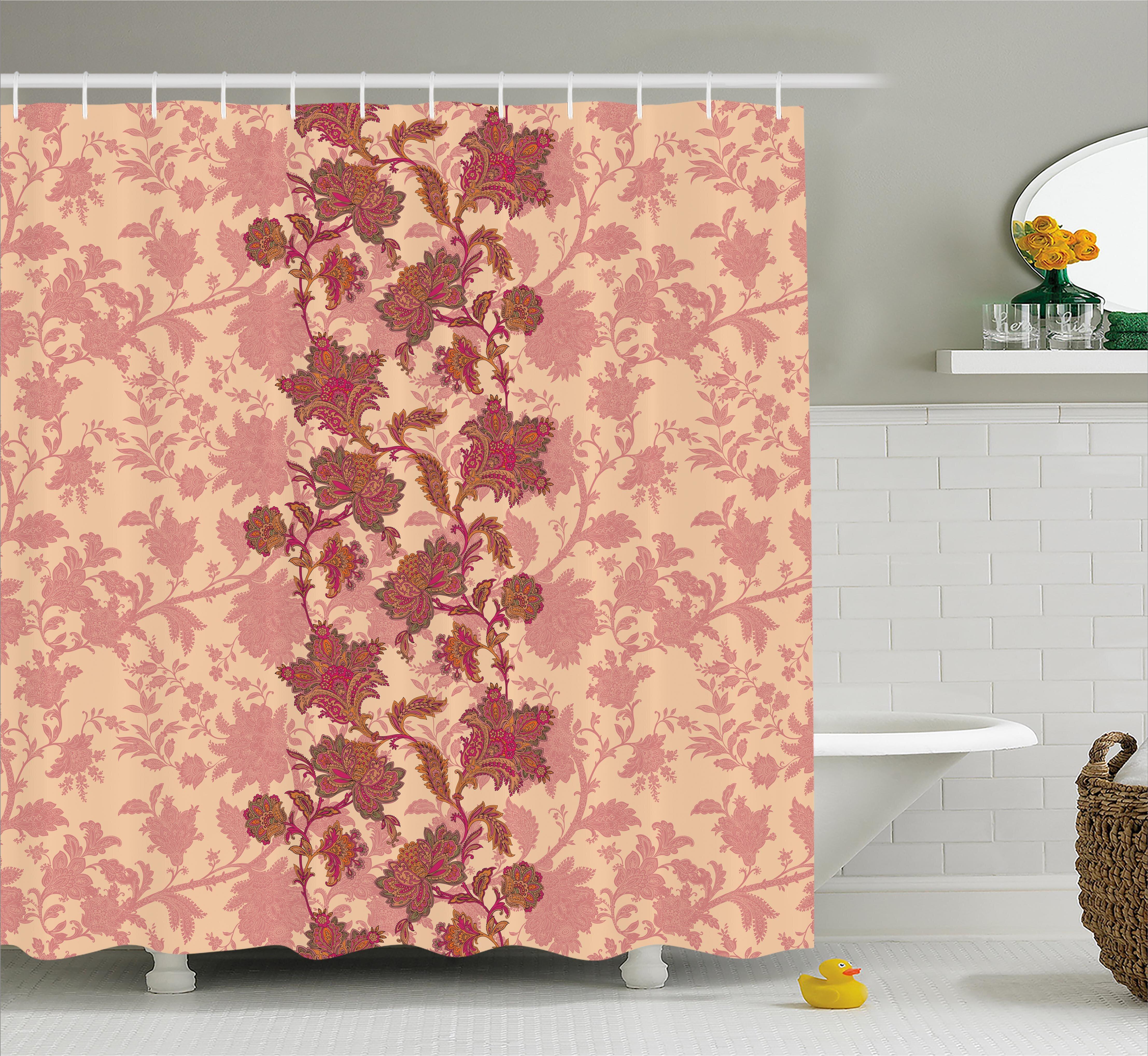 Bloomsbury Market Armando Vibrant Colored Pattern Shower Curtain