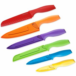 Top Chef 12 Piece Colored Knife Set