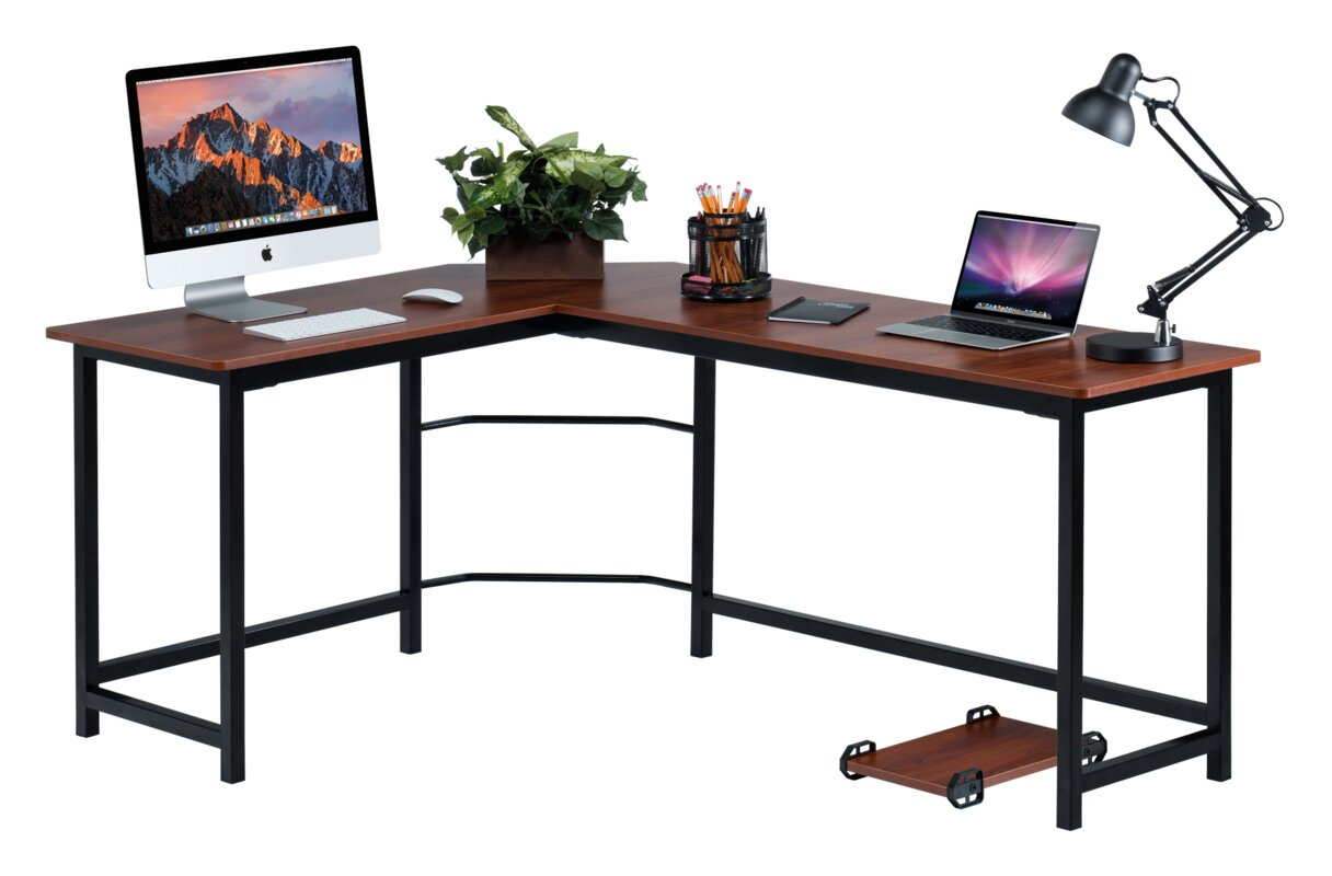 Ohioville Stylish L Shaped Computer Desk