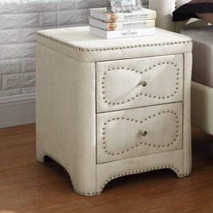Buy luxury 2 Drawer Nightstand by Best Quality Furniture