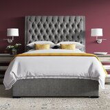 Jarratt Upholstered Standard Bed by Greyleigh™