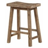 Elkmont Solid Wood 24 Counter Stool by Loon Peak®