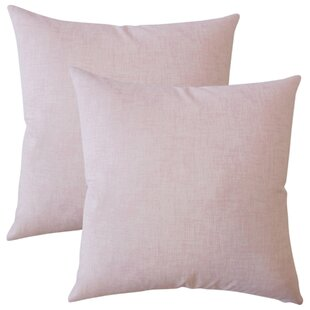 Aman Plaid Cotton Throw Pillow (Set of 2)