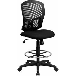 Krull Mesh Drafting Chair by Symple Stuff Great price