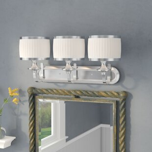 Harwinton 3-Light Vanity Light By Three Posts Wall Lights