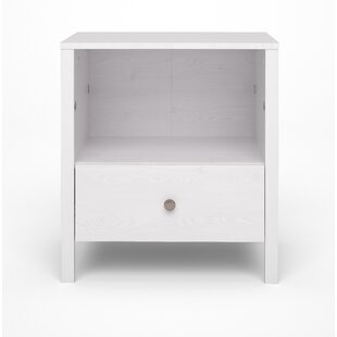 Hasan 1 Drawer Nightstand