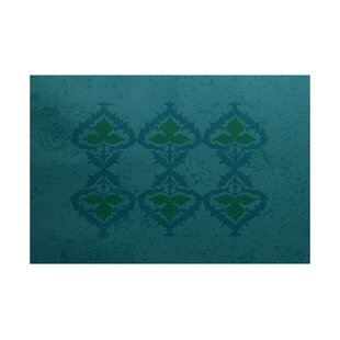 Soluri Blue Indoor/Outdoor Area Rug