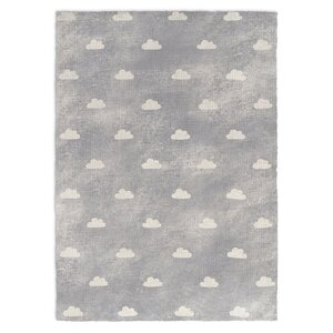 Owl Gray Area Rug