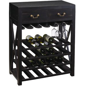 French Accents 20 Bottle Floor Wine Rack by French Heritage