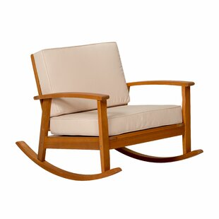 Buecker Rocking Chair with Cushions