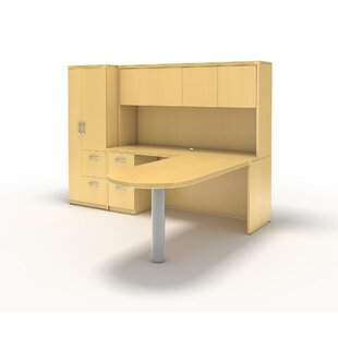 Aberdeen L-Shape Desk Office Suite by Mayline Group Best Design