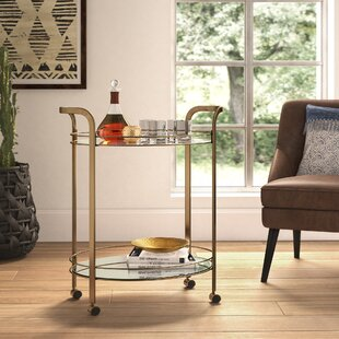 Trenton Serving Bar Cart by Mistana