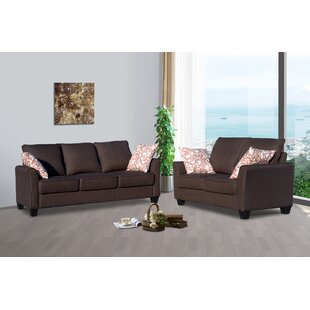 Bellamira 2 Piece Living Room Set by Winston Porter