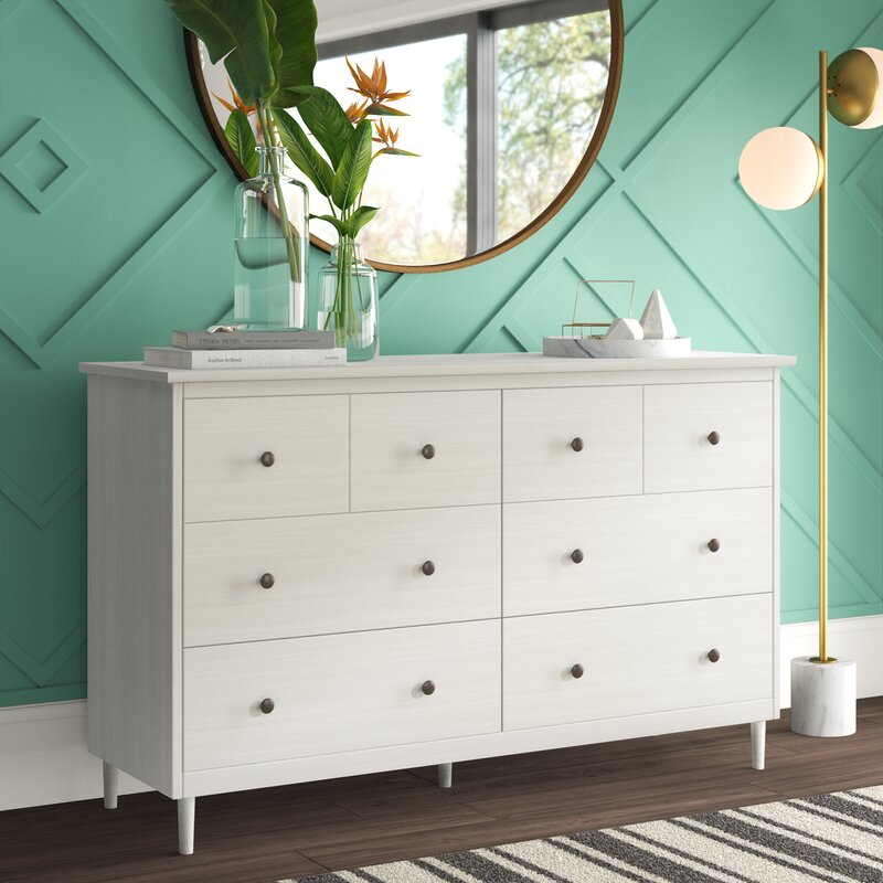 Lafever 6 Drawer Double Dresser