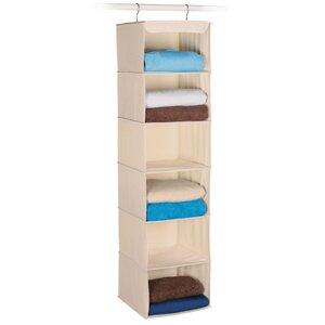 Expressive Closet Storage 6 Compartment Hanging Organizer ByRichards Homewares
