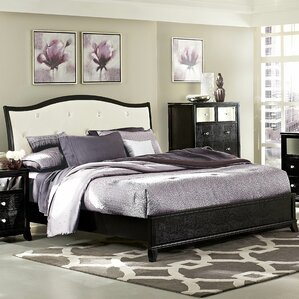 Burberry Upholstered Panel Bed by Rosdorf Park